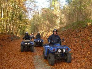 Rando en quad dans l'Aisne