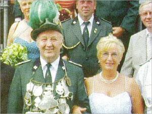 König Alfons I. (Schaemann) und Königin Inge I. (Langkamp)