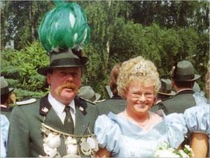 König Wilhelm I. (Wenner) und Kaiserin Anneliese I. (Hans)