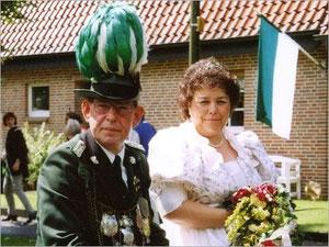 König Josef II. (Kalfhaus) und Königin Bärbel II. (Breuckmann)