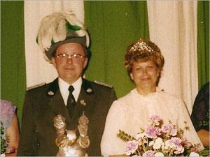 König Erwin I. (Meer) und Königin Hannelore I. (Rehr)