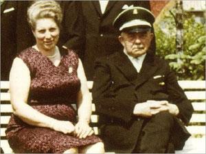 König Alois I. (Rosenbaum) und Königin Josefa I. (Merhofe)