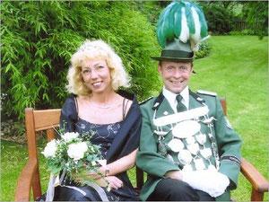 König Peter I. (Schwab) und Königin Doris I. (Schmülling)