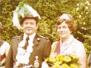 König Josef I. (Wilming) und Königin Hedwig I. (Hans)
