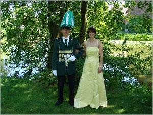 König Reinhold I. (Diekmann) und Königin Nicole I. (Diekmann)