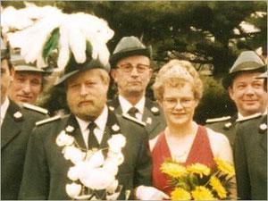 König Erich I. (Reddemann) und Königin Anneliese I. (Hans)