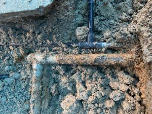 ガス管の腐食1