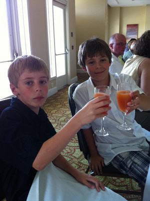 The boys.