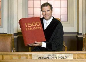 Richter Alexander Hold, auch eine Sorte von Assi-TV