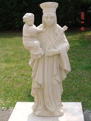 2005 Hl. Nepomuk u. Maria mit Kind / Gansbach / Zogelsdorfer Kalksandstein