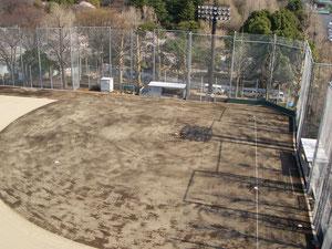 防球フェンス