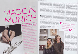 Made in Munich - die Krickerl in der Presse