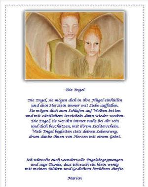 Engel, Schutzengel, LichtboteMarion Schägfer-Staudigl