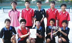 関東中学生テニス群馬県予選
