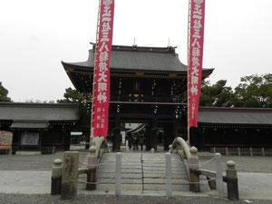 楼門と神橋