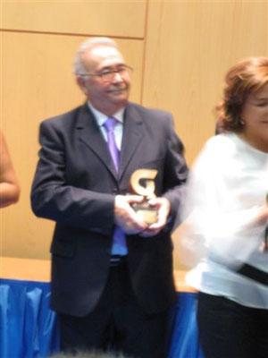Gabriel Grande galardonado