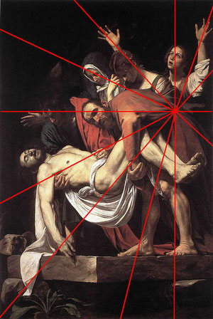 La deposición: Caravaggio
