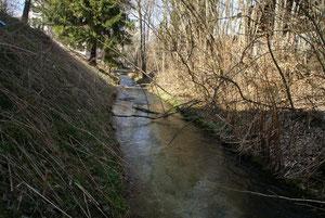 Ab hier nimmt der Fluss seinen Lauf