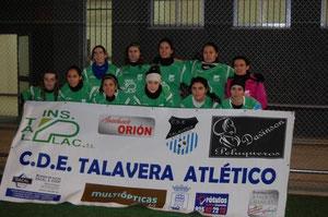 - SOMOS  patrocinadores  del  C.D.E.  Talavera Atletico -        ¡¡¡ CAMPEONAS 2010/2011 !!!