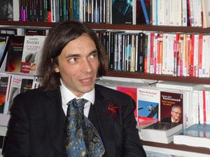 Cédric Villani à la librairie le 29 septembre2012
