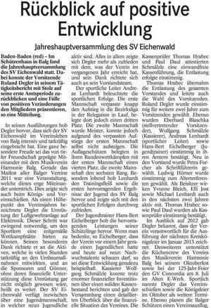 Bericht BT vom 03.04.2012