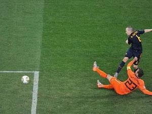 Gol De Iniesta Final Mundial 2010