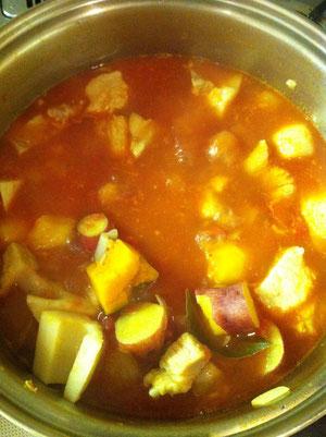 根菜 カレー レシピ