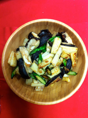 椎茸 山芋 レシピ