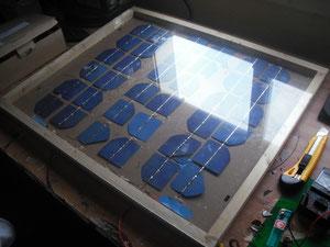 placa solar 22w