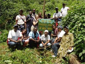Source du Nil au Rwanda