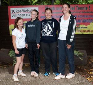 Die Juniorinnen U15-1 haben in der Verbandsliga mit einem guten vierten Platz die Klasse für das nächste Jahr gesichert - Glückwunsch !!!