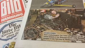 BILD-Zeitung Hamburg vom 21.02.2014