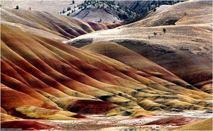 Painted Hills Unit of the John Day Fossil Beds