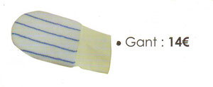 gant pour réaliser vos glacis muraux.