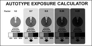 Рис.2. Тест - фотоформа для определения качества печатных рам и контроля работы вакуумной установки копировальной рамы
