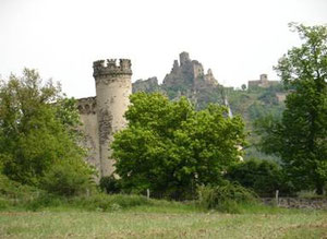 Chateaux de Torsiac et Léotoing