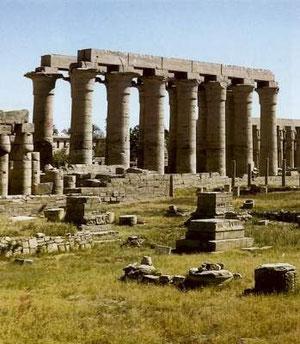 Колоннада Аменхотепа III. Луксор