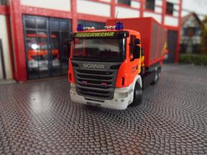 Wechselladerfahrzeug Scania R500