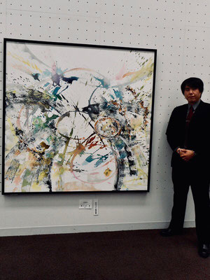 「EDEN」ホルベイン画材賞受賞(2016年)と作者