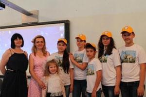 После выступления в Голубой гостинной  Московского Дома Учителя