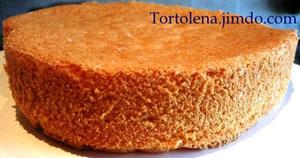Воздушный бисквит с натуральной ванилью без масла и разрыхлителей