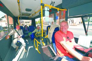 BürgerBus fahren macht Spass!