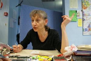 Anne Romby au Salon du livre (17 octobre 2009)