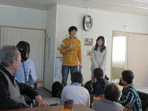 中国から来た留学生、故郷のことを語る。
