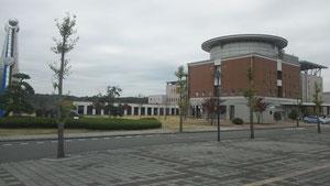 市貝町役場の庁舎