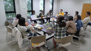 10/14 佐野市で開かれた会員の集いの様子様子
