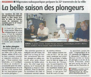 Article de l'Yonne Républicaine du 26/09/2012