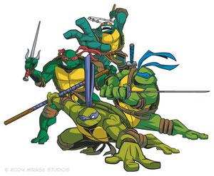 Las Tortugas Ninja Dibujos