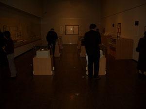 二の丸美術館で行った「夜の美術館」の様子①