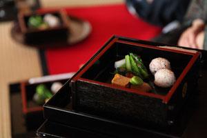 点心は、旬の掛川の食材にこだわりました。